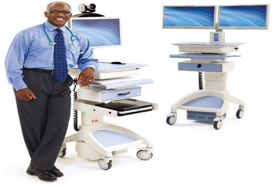 Advantech Brings in Computer Integrated cart solution for Medical Operations