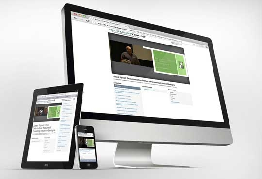 KnowledgeVision Online Presentations Now Enhanced with Responsive Mobile Design