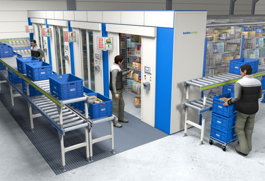 Kardex Remstar's Kardex Drive Integrated with SAP Manages Automated Storage