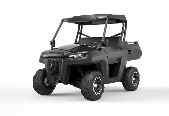 Massimo Motor Partners with ATOMdesign to Launch Outdoors Hybrid Utility Terrain Vehicle