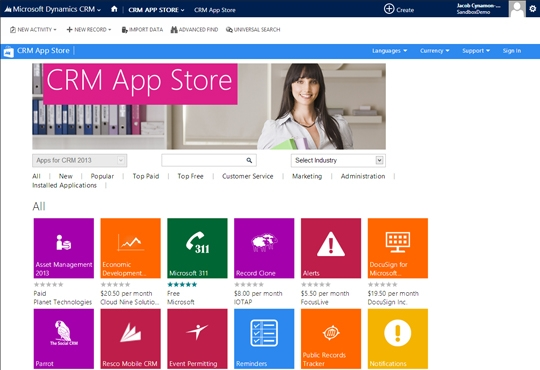 TreCom Announces its First Dynamics CRM App Store Solution Offering