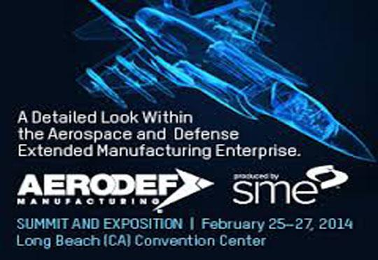 AeroDef Manufacturing Summit And Exposition To Be Held From Feb 25-27