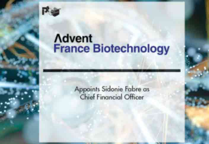 Sidonie Fabre Joins Advent France Biotechnology as CFO