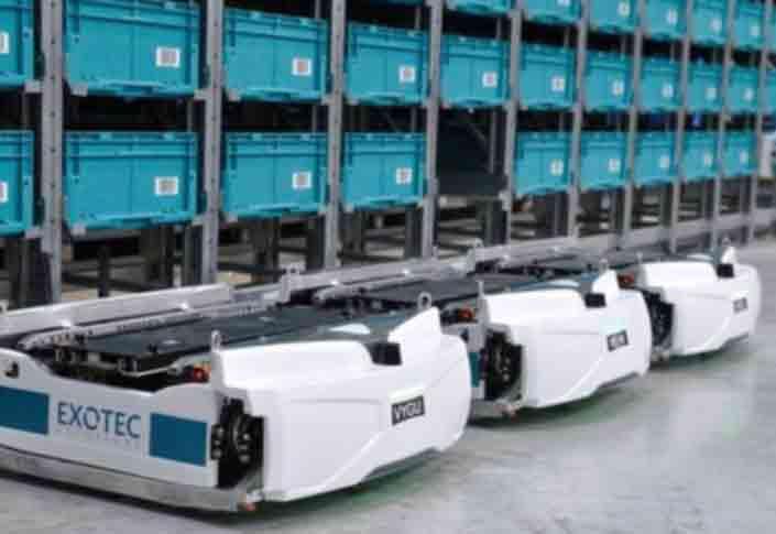 AHS and Comoto Holdings to Design Exotec Skypod System