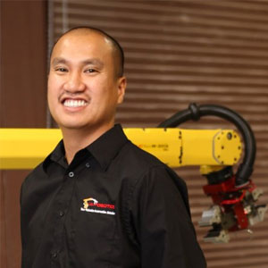 Saksit Suetrong, CEO & Robotics Engineer, iA-ROBOTICS