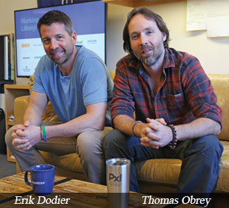 Erik Dodier, Co-Founder & CEO and Thomas Obrey, Co-Founder & CTO