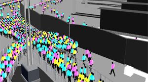 legion commercial pedestrian simulation Sehen sie sich das profil von miller crockart  - opened up commercial  around the world to use and prescribe the use of legion as the pedestrian simulation.
