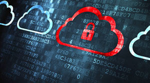 built-in security associated with cloud data warehousing