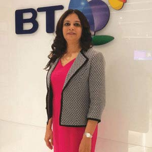 Usha Rao, Head of Data Centre & Cloud Practice, Asia Pacific, Middle East & Africa, BT