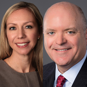 Katie Bayt, Of Counsel and Chuck Baldwin, Equity Shareholder