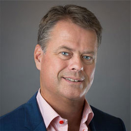 Michael Hallén, President and CEO, Qmatic