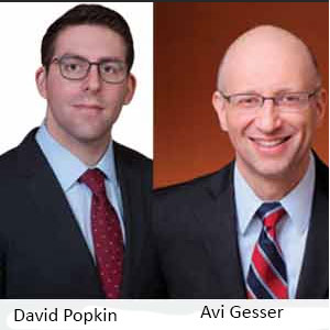 David Popkin, Associate at Davis Polk & Wardwell, LLP and Avi Gesser, Partner (Cyber Security & White Collar)