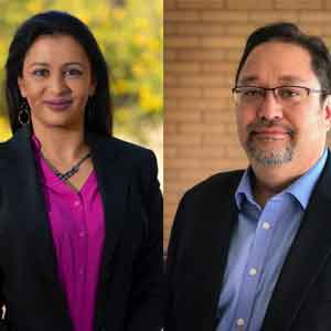 Seema Sewell, Director of Cyber Assurance and Architecture, Maricopa County Lester Godsey, CISO, Maricopa County
