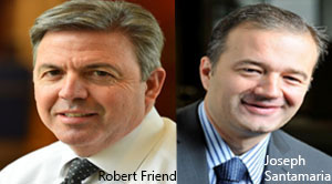 Joseph Santamaria, VP of Technology & CIO and Robert Friend, VP of Procurement, PSEG