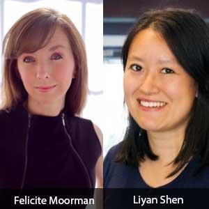 Felicite Moorman, CEO and Liyan Shen, CFO