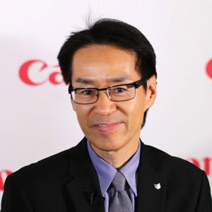 Hiro Imamura, Senior Vice President and General Manager, Business Imaging Solutions Group, Canon U.S.A.