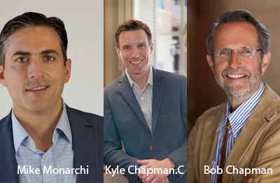 Kyle Chapman. C, President, Mike Monarchi, Chief Financial Officer and Bob Chapman, CEO