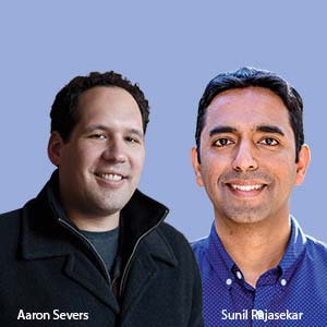 Sunil Rajasekar, Chief Technology Officer & Aaron Severs, Vice President, Marketing Products, MINDBODY